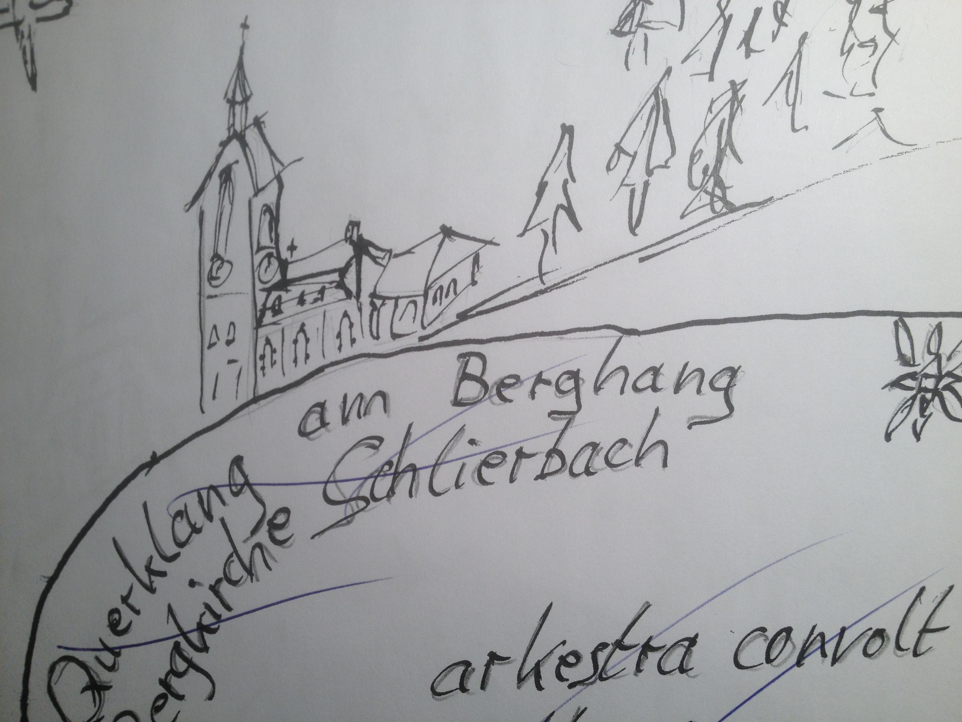 Zeichnung Bergkirche von Claus 2