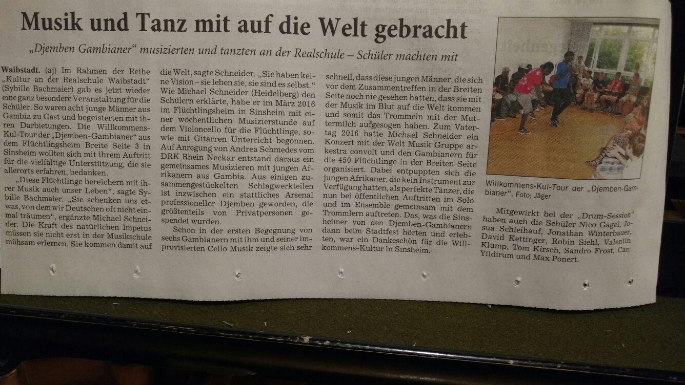 Waibstadt-Presse 19.7.2016