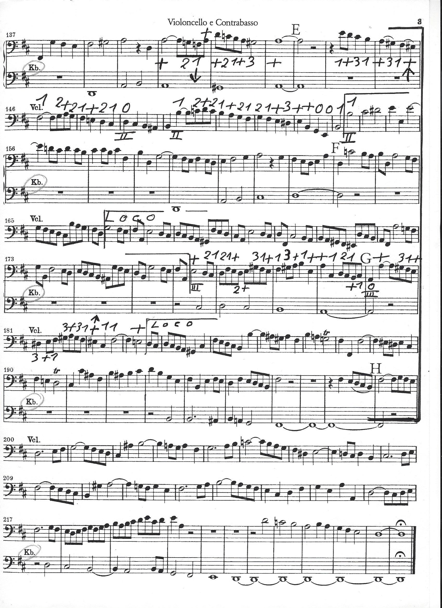 Bach - Orchesterstellen Kantat 80 - Ouvertüre-2