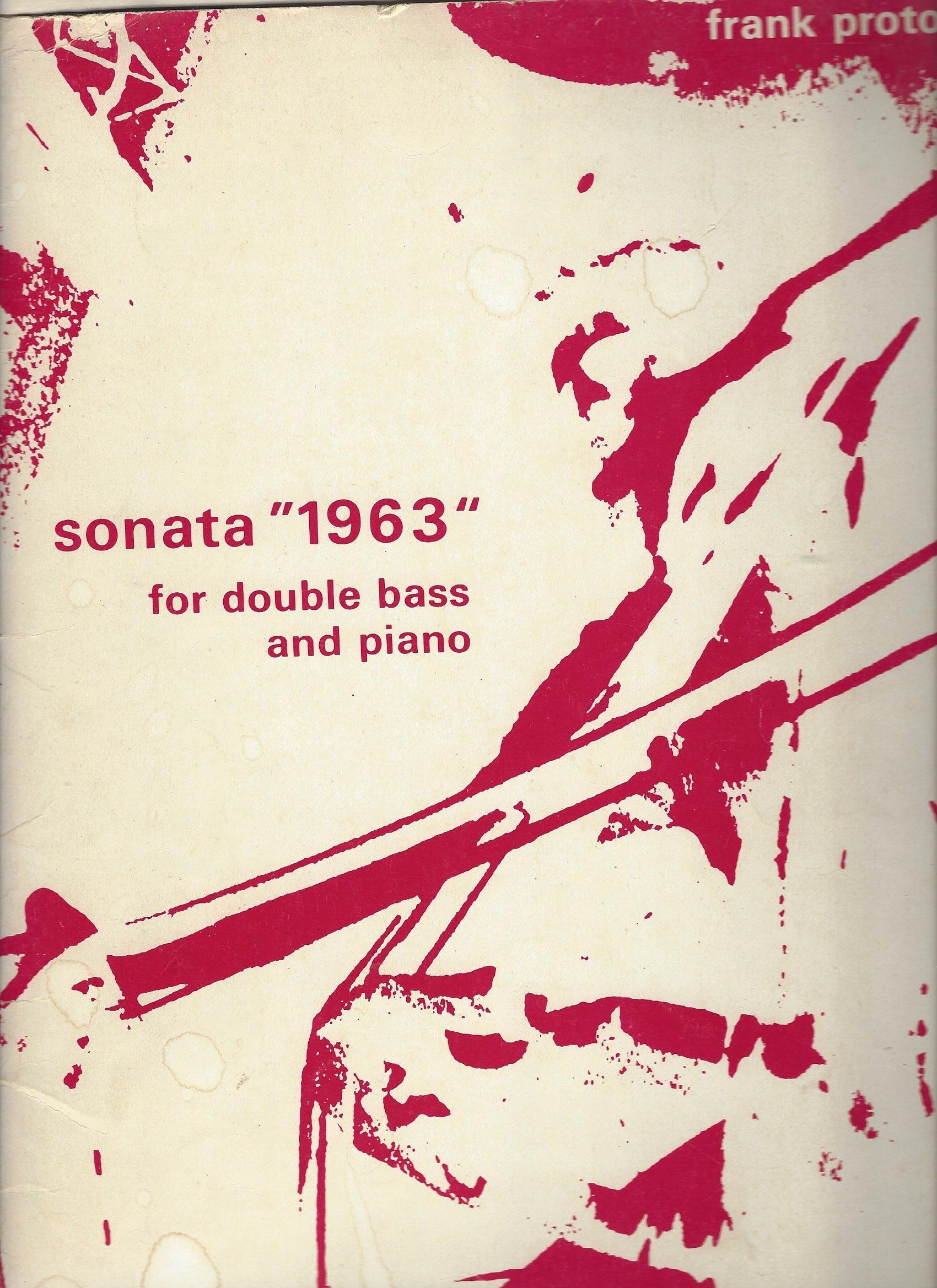 Frank Proto - Sonate 1963
